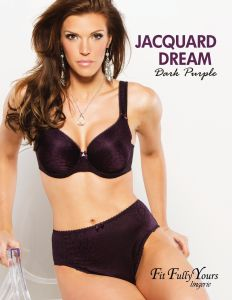 Jacquard Dream Moulded cup with underwire Style #4383